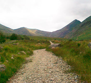 MacGillycuddy Reeks mountain path