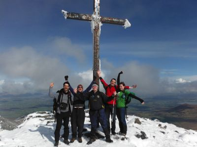 walking on carrauntoohil 3